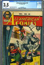 ALL-AMERICAN COMICS #45, Dec_1942, CGC 3.5