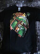 Star Wars Boba Fett Helmet Black (Medium) Tshirt
