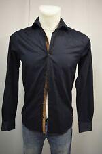 SCOTCH&SODA Herren Klassisch Hemd Gr. S  Navyblau  TOP *A127