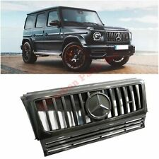 W463 Carbon Fiber Front Grille Set New Style for Mercedes-Benz G-Class 2008-2018