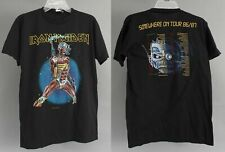 Authentic 1986/87 Tour Iron Maiden Shirt Somewhere In Time Concert Tee Shirt
