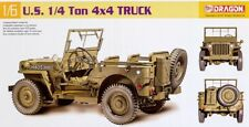 U.S. 1/4 Ton 4x4 Truck Willys MB US Army Jeep 1:6 Model Kit Bausatz Dragon 75020