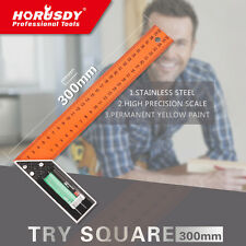 300mm Triangle Ruler Try Square Measure Measuring Ruler Angle Ruler Marking Cut