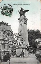 Br16763 Statue de Gambetta Paris france