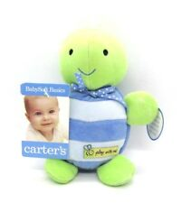Carter's Play With Me Giggling Turtle Baby Infant Toy New with Tags Green Blue