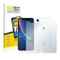 2x Apple iPhone XR (Anteriore + Posteriore) Pellicola Protettiva Opaca