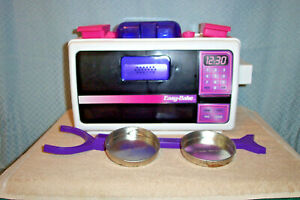 VINTAGE (c) 1997 EASY BAKE OVEN by HASBRO # 65510 With Box, WORKS Used 4 times.