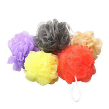 10pcs Bath Shower Body Exfoliate Puff Sponge Mesh Net Bath Mesh Net Balls Set
