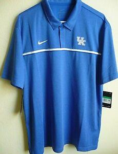 NCAA Adidas Kentucky Wildcats Coaches Performance Polo Shirt XL NWT CN7848