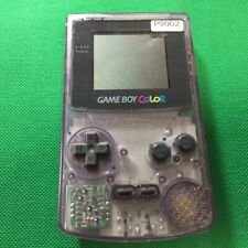 P9002 Nintendo Gameboy Color console Clear Purple Japan GBC Express x
