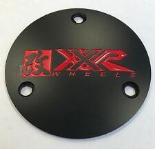 XXR Wheels (1) One Black Color Aluminum Center Cap EMB ZBX07055 Modified 962