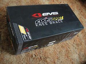 EVS AXIS SPORT MEDIUM RIGHT KNEE BRACE asterisk cti leatt adult size support NEW