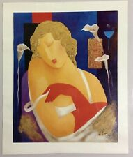 The Actress - Limited Edition Signed Giclee on Canvas by Arbe (Ara Berberyan)