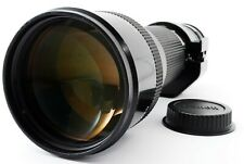 Canon New FD 400mm F/4.5 SLR Camera Lens w/ EF Mount Adapter [Excellent] #718