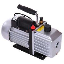 5CFM 1/3HP Vacuum Pump Rotary Vane Single Stage Air Conditioning Refrigerant AC