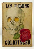 Ian Fleming - Goldfinger - UK 1st 1st - James Bond Novel - 1959 HCDJ