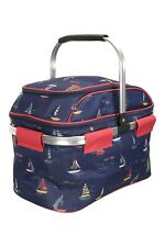 Mountain Warehouse Premium 4 Person Picnic Hamper Insulated - 36 L in Navy