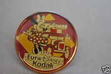EURO DISNEY KODAK RARE MINNIE MOUSE PIN BADGE