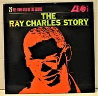 """The Ray Charles Story"" Mono Double LP Set 29 All-Time Hits (Atlantic 2-900)"