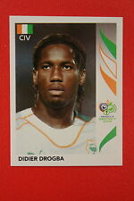 PANINI FIFA WORLD CUP GERMANY 2006 06 N. 205 COTE D'IVOIRE DROGBA MINT!!!