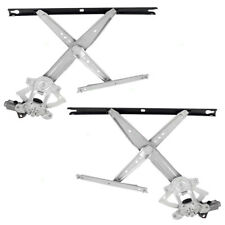 Power Window Regulators fit Ford Super Duty Pickup Excursion Front Set w/ Motors