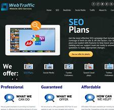 SEO Re-seller, Social Media, web traffic re seller, Business, Turnkey website,