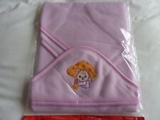 Baby Bath Towel Soft & Warm Wrap Hooded Blanket with embroidered Cat