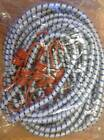 """Heavy Duty Bungee Cords Straps 24pc Set 72"""" 6FT Long Thick Tarp Tie Downs Bungi"""