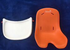 Boon Flair Pedestal High Chair Seat Pad Replacement Cushion And Tray Set Used