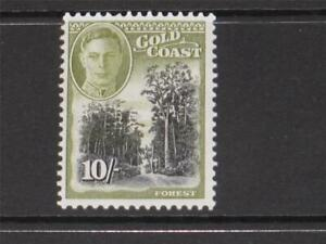 COMMONWEALTH 1948   GOLD COAST KGVI 10/ MINT NEVER HINGED  Sg 146