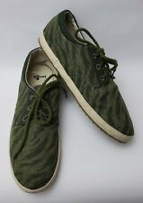 Sanuk Shoes Sneakers Green Mens Size US 11 EU 44