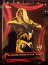 2011 Topps WWE Wrestling Catchy Phrases #CP-9 Goldust