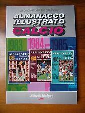 ALM. ILL.DEL CALCIO 1983-1984-1985=PANINI/GAZZETTA SPORT=CRONISTORIA SERIE A