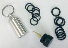 Aluminum Scuba Tank Diving Repair Kit 12 Spare O-Ring Dive O Ring Replacements