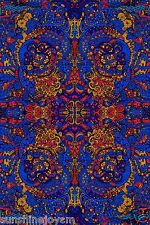 3D Psychedelic Liquid A Tapestry 60x90 Inches Wall Hanging FREE 3-D Glasses