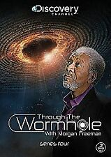 Through The Wormhole With Morgan Freeman: Series 4 [DVD] VGC - 3 Disc Set