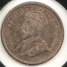 1912 EXTREMELY FINE Canadian Five Cents Silver #2