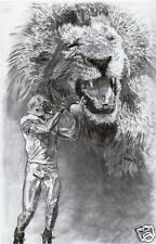 Detroit Lions Calvin Johnson poster print picture art
