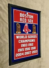 Boston Red Sox Framed 11x14 Photo World Series Champs
