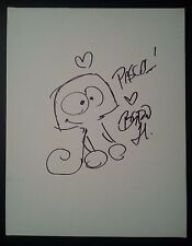 BYRON HOWARD Authentic Hand-Signed TANGLED PASCAL Original Sketch 11x14 Canvas
