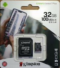 For Nextbase Dash cam 222 312GW 412GW 512GW 32GB Kingston Micro SD Card 100MB/s
