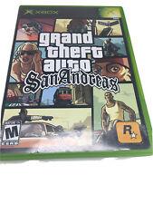Grand Theft Auto San Andreas - Original Xbox Game