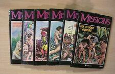 MISSIONS - Collezione completa 1/6 - Fumetti d'arte 1987