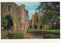 The Abbey Gateway & West Front St Albans Old Postcard 355a