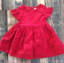 e8c62bc4b23b Gymboree Girls Red Ruffle Velvet Christmas Holiday Dress Nwt Size 2t