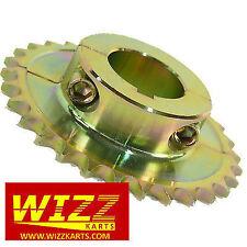 34t 428 30mm Split Steel Axle Sprocket High Quality FREE POSTAGE WIZZ KARTS