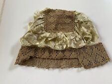 Antique Victorian/Edwardian â—‡ Crochet Bouduoir Dust/Night Cap Bonnet for Repair
