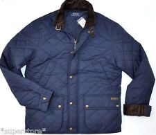 $345 POLO RALPH LAUREN Men QUILTED Hagan Barn BUSINESS Jacket CAR Coat NAVY XXL
