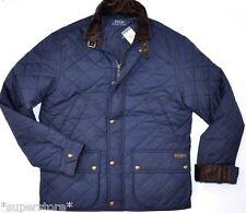 $345 POLO RALPH LAUREN Men QUILTED Hagan Barn BUSINESS Jacket CAR Coat NAVY XXL