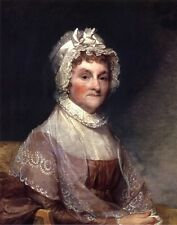 FIRST LADY ABIGAIL ADAMS US HISTORY PAINTING ART REAL CANVAS 11X14 PRINT
